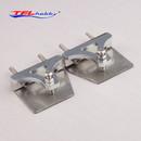 TFL 1Pair 38×10×32 Water Pressure Plate Adjustable Trim Tab 516B12 For Rocket FSR-OF 1111 RC Boat Parts