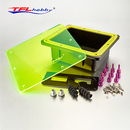 TFL Waterproof Servo Radio Box, Epoxy Radio box with Spare Parts for Marine Gas Nitro 26CC 30CC RC Boat 755B31