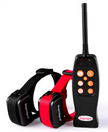 Dogwidgets DW-16 Two Dog Training Collar With Remote Shock Vibration Correction