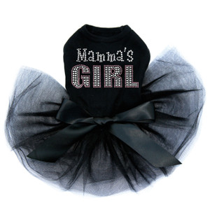 Mama's Girl rhinestone dog tutu for large and small dogs.