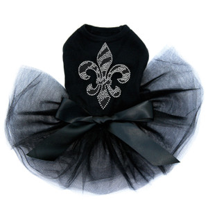 Fleur de Lis (Zebra Print) Tutu