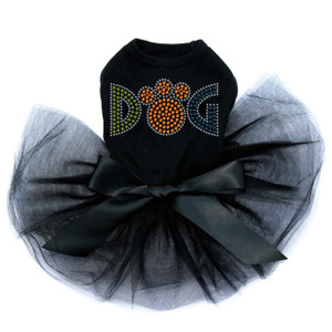 Dog - Rhinestone dog tutu for large and small dogs.