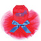 Patriotic Donkey dog tutu for large and small dogs.
