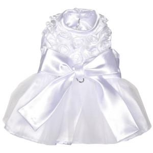 The Bianca Rose Ribbon Dog Dress