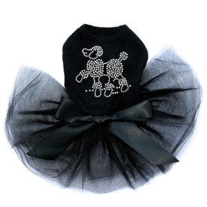 Poodle - Rhinestones Tutu for Big and Little Dogs
