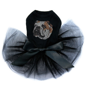 Bulldog Face (Brown) -Tutu