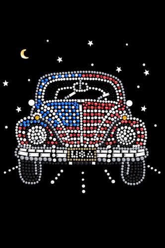 Volkswagon - Red, White, & Blue Tutu