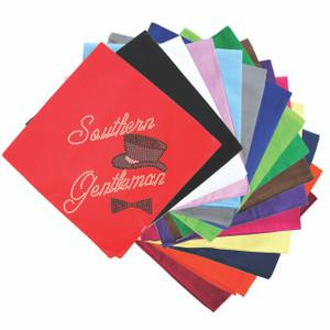 Southern Gentleman & Top Hat & Bow Tie - Bandanna