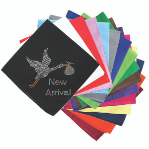 New Arrival - Stork - Bandanna