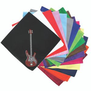 Guitar (Red Swarovski) - Bandanna