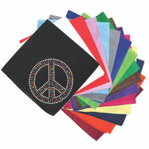 Peace Sign (Multicolor) - Bandanna