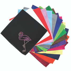 Pink Flamingo (Small) - Bandanna