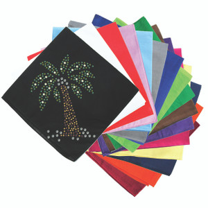 Palm Tree (Green) - Bandanna
