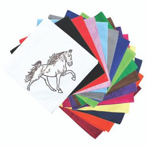 Horse (Brown Rhinestuds) - Bandanna