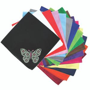Green Nailhead Butterfly - Bandannas