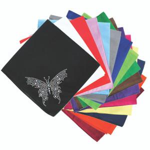 Blue Swarovski Butterfly - Bandannas