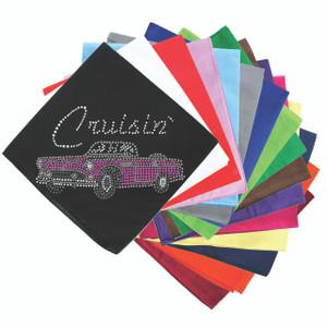 Cruisin Pink Convertible - Bandanna