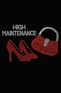 High Maintenance Red Heels & Purse - Women's T-shirt