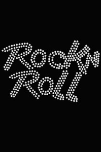 Rock n Roll (Rhinestone) - Women's T-shirt