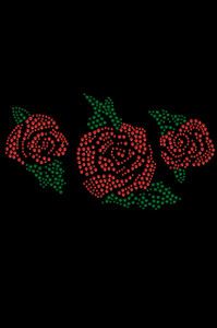 Red Roses - Women's T-shirt