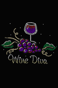 Wine Diva #2 - Women's T-shirt