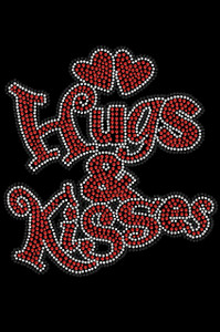 Hugs & Kisses Adult T-shirt or Tank.