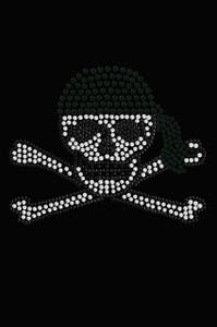 Skull with Black Bandanna - Women's T-shirt