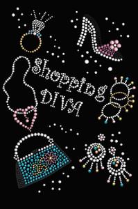 Shopping Diva - Women's T-shirt