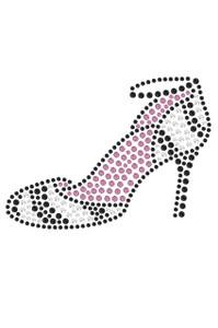 Zebra High Heels  - Women's T-shirt