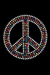 Peace Sign (Multicolor) - Women's T-shirt