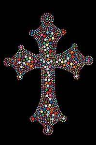 Cross (Multicolor) - Women's T-shirt