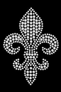 Fleur de Lis (Rhinestone) - Women's T-shirt