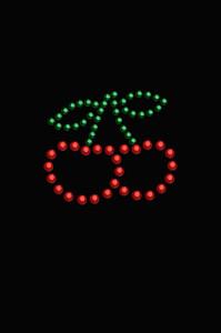 Cherries (Outline) - Women's T-shirt