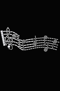 Music Notes - Women's T-shirt