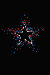 Star (Red & Blue) - Women's T-shirt