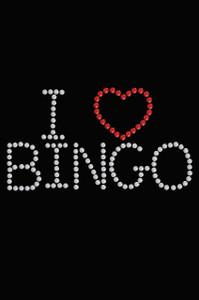 I Love Bingo - Women's T-shirt