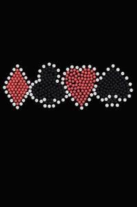 Diamond, Club, Heart, Spade - Women's T-shirt