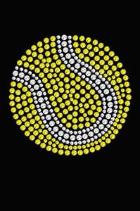 Tennis Ball - Women's Tee