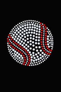 Baseball (White Nailheads) - Women's Tee