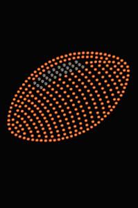 Football (Orange #1) - Women's Tee