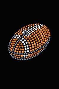 Football (Orange #2) - Women's Tee