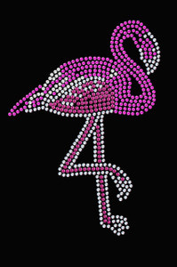 Pink Flamingo (Iridescent - AB) - Women's T-shirt