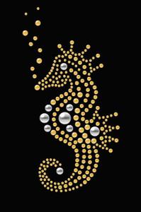 Seahorse (Nailhead)  - Women's T-shirt
