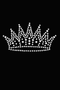 Crown # 2 (Rhinestones) - Women's T-shirt
