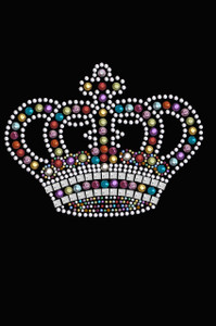 Crown #14 (Multicolored) - Women's T-shirt