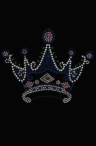 Crown #16 ( Clear, Blue, Green, & Pink)- Women's T-shirt