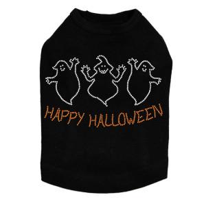 Happy Halloween Ghost Dog Tank