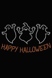 Happy Halloween Ghost - Women's T-shirt