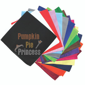 Pumpkin Pie Princess Bandanna