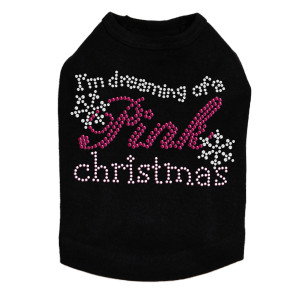 I'm Dreaming of a Pink Christmas Dog Tank
